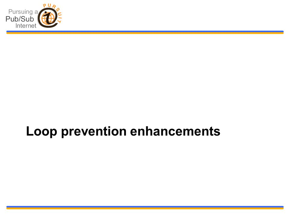 Loop prevention enhancements