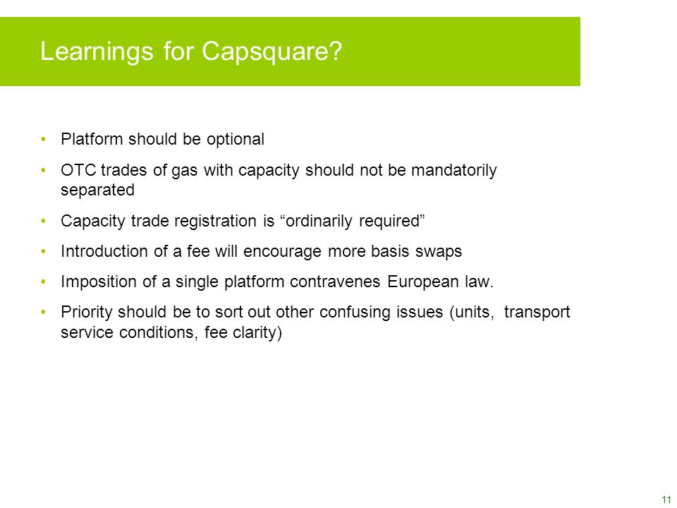 11 Learnings for Capsquare.
