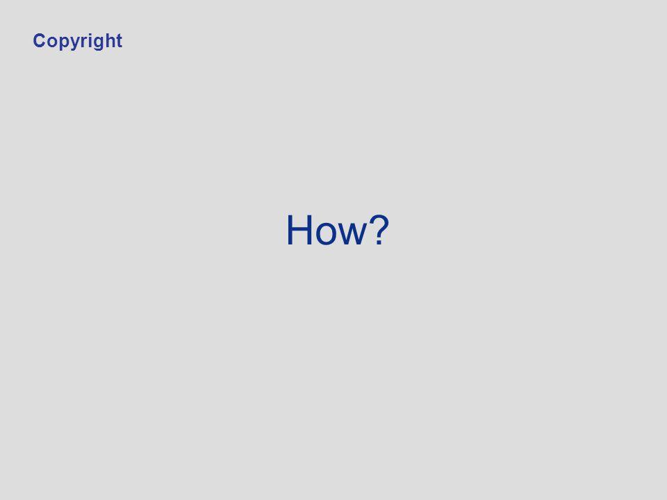 How Copyright
