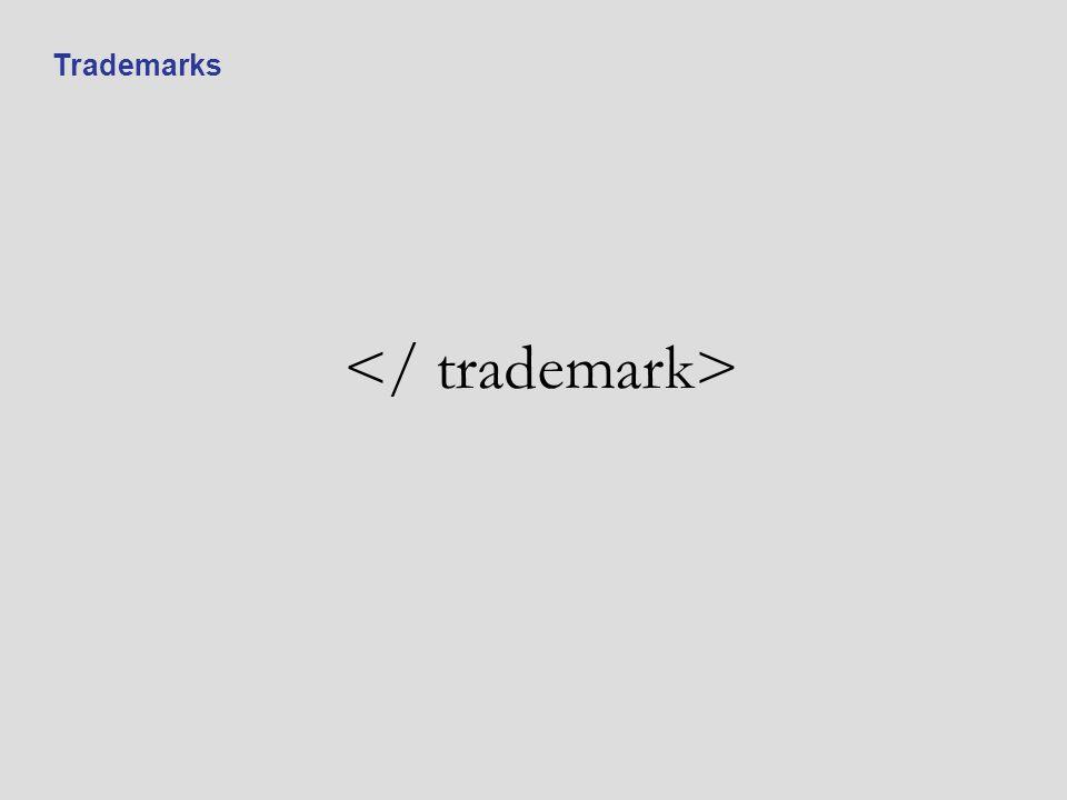 </ trademark>