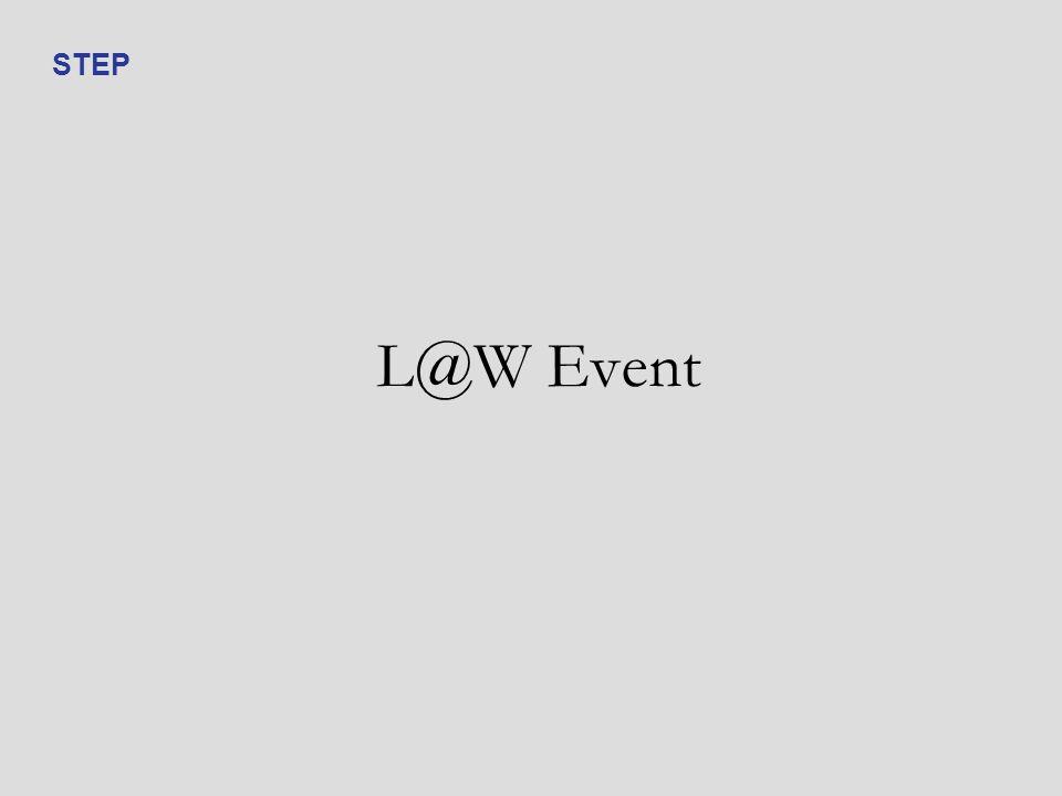 L@W Event STEP