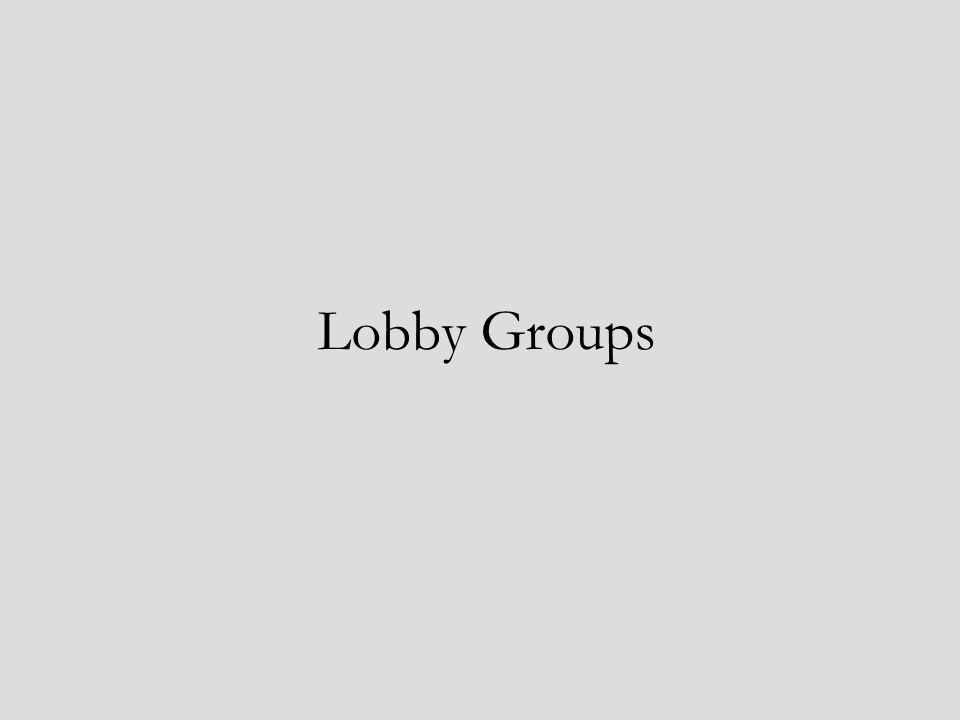 Lobby Groups