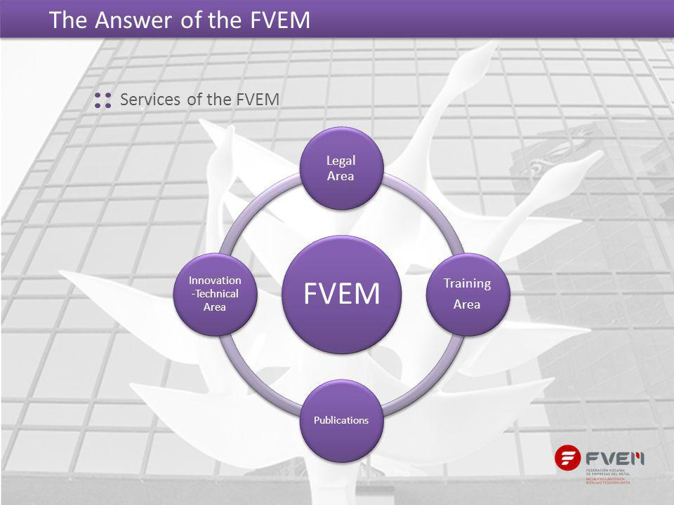 The Answer of the FVEM FVEM Legal Area Training Area Publications Innovation -Technical Area Services of the FVEM