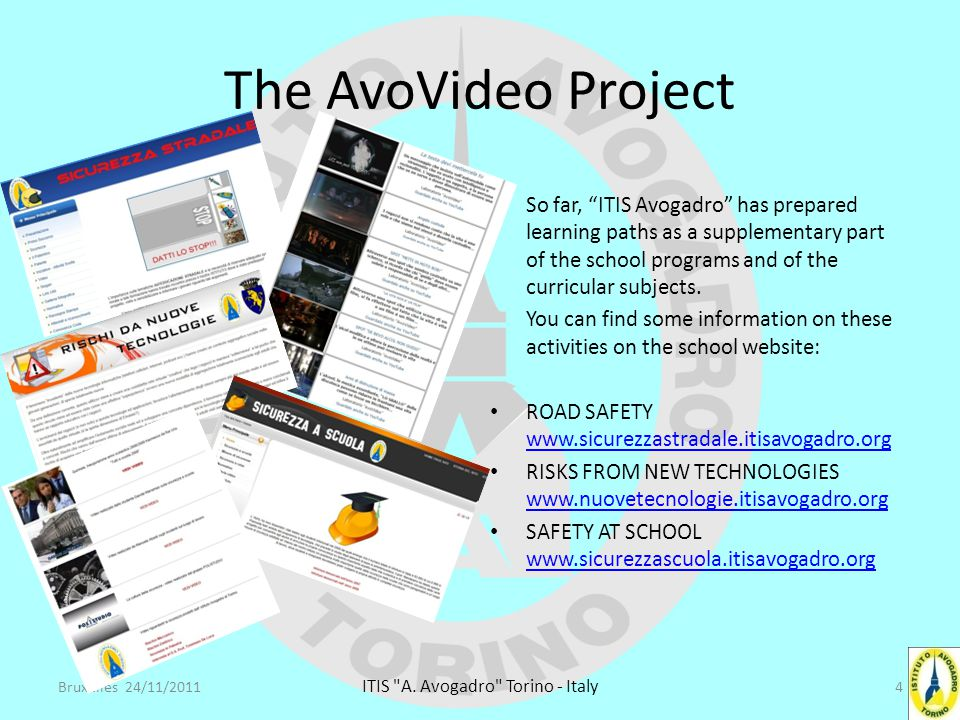 The AvoVideo Project These websites are currently updated and managed by a team supervised by Mr.