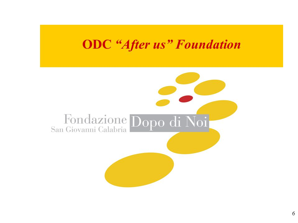 6 ODC After us Foundation