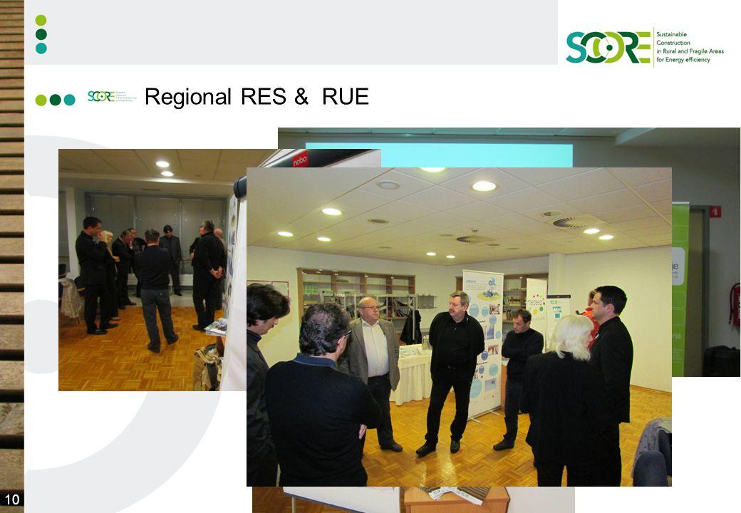 10 Regional RES & RUE