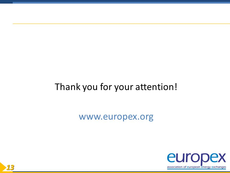 1313 Thank you for your attention! www.europex.org