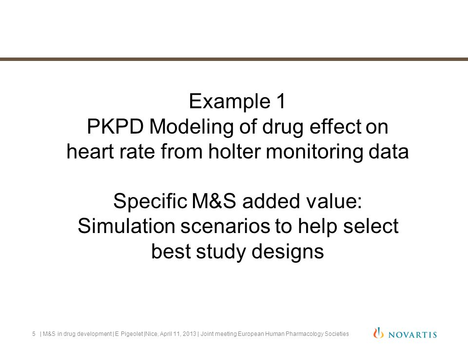 For a non cardiovascular drug with a Heart Rate slowing effect, how do we mitigate.