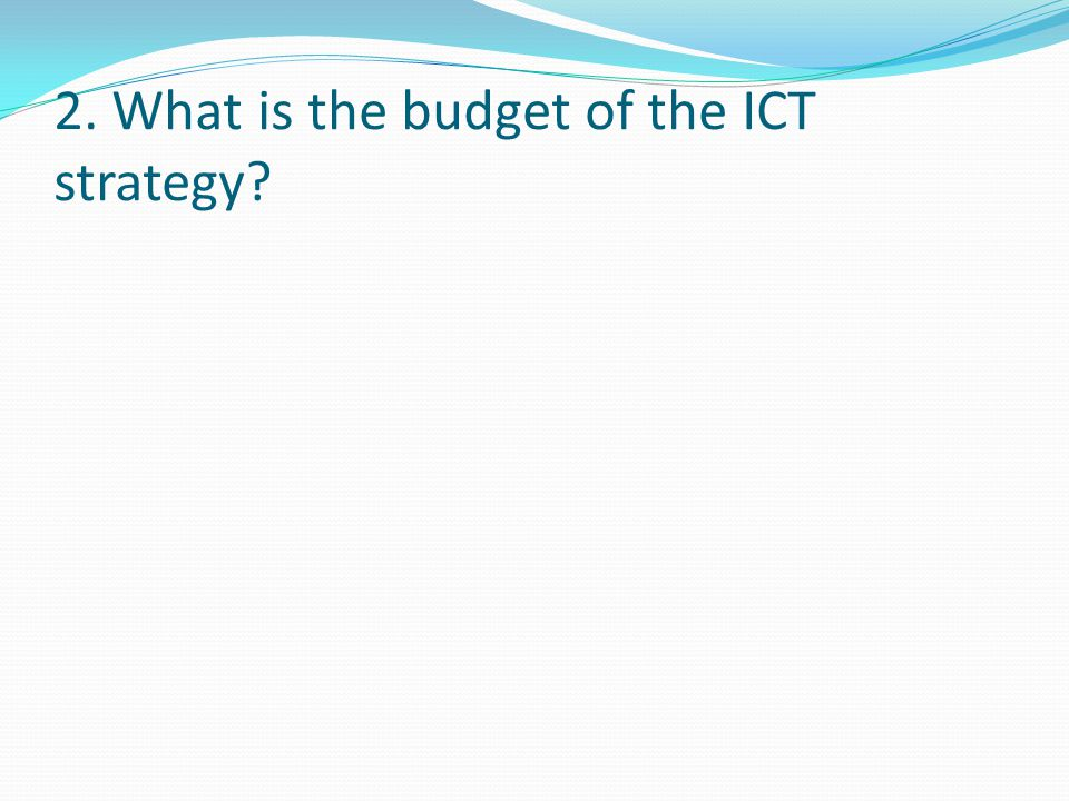3. What type of support services are provided to SMEs to implement the ICT strategy?