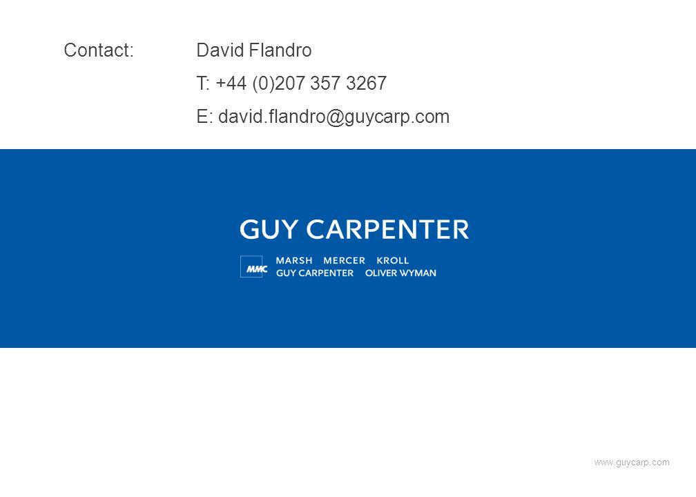 www.guycarp.com Contact: David Flandro T: +44 (0)207 357 3267 E: david.flandro@guycarp.com