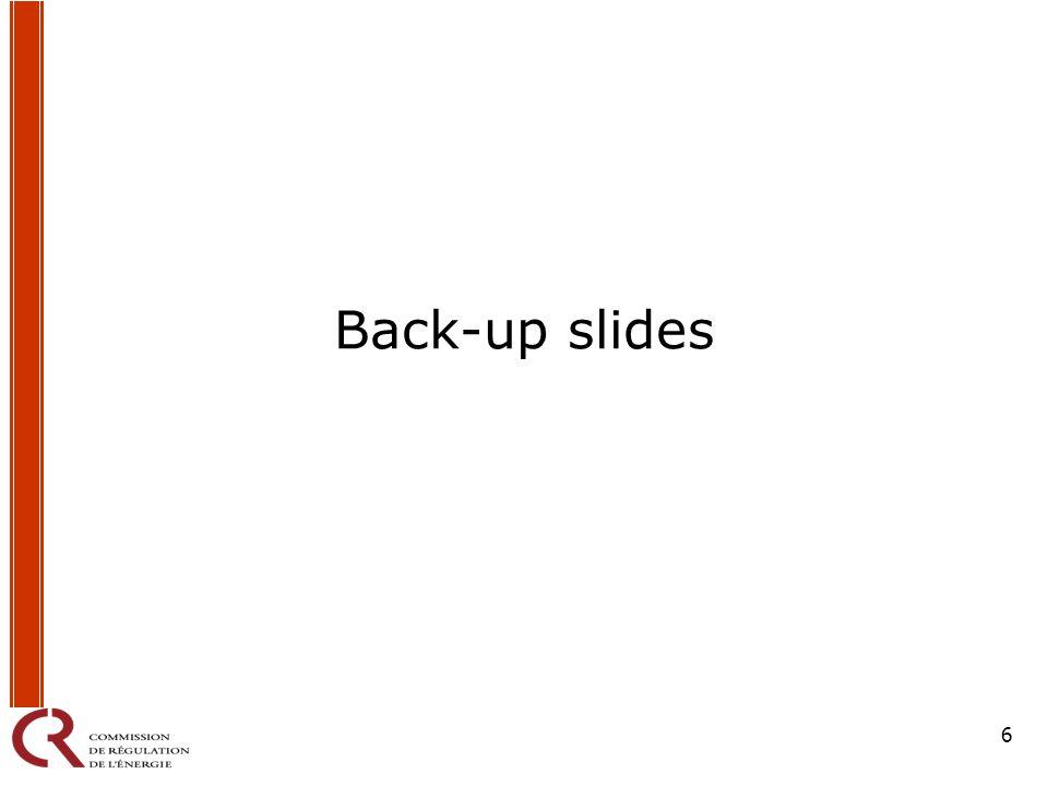 6 Back-up slides