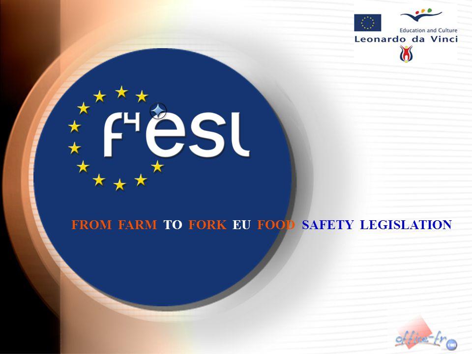 FROM FARM TO FORK EU FOOD SAFETY LEGISLATION