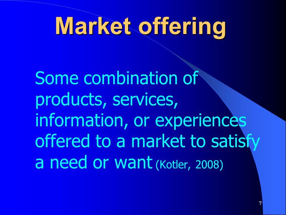 38 A market – 5 exchanges Pots FruitsMeat BasketsKnives Central Market Middleman