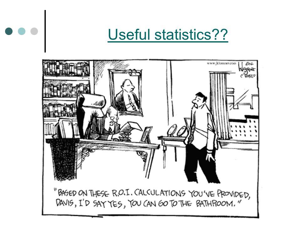 Useful statistics??