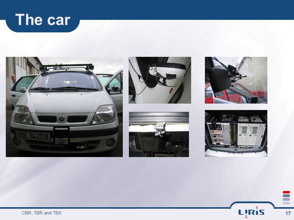 The car CBR, TBR and TBS 17