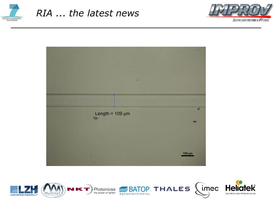 RIA... the latest news