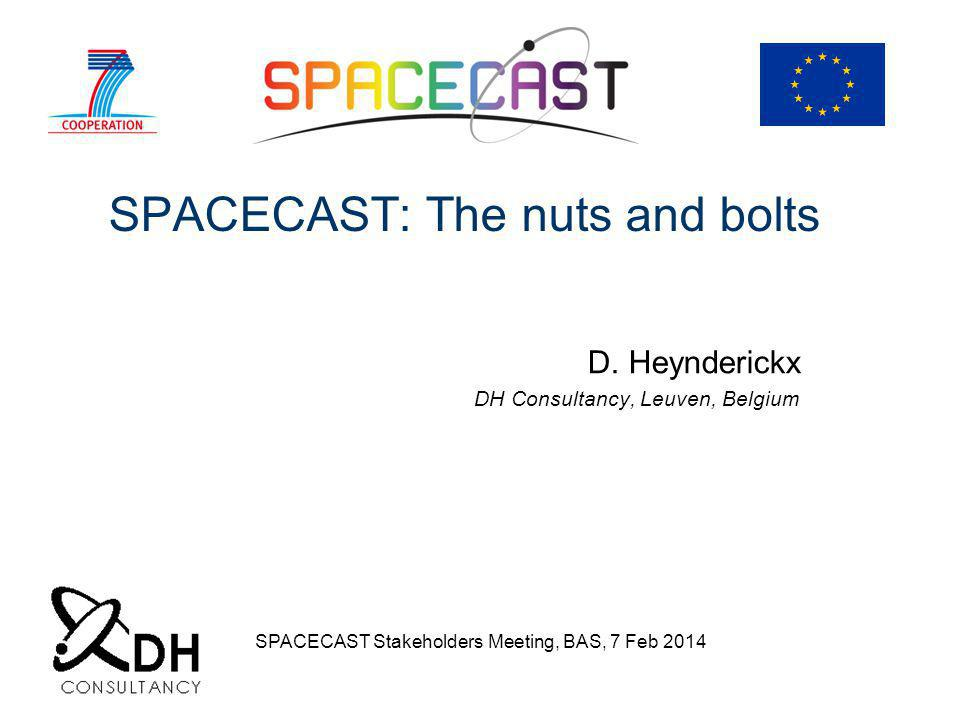 SPACECAST: The nuts and bolts D.