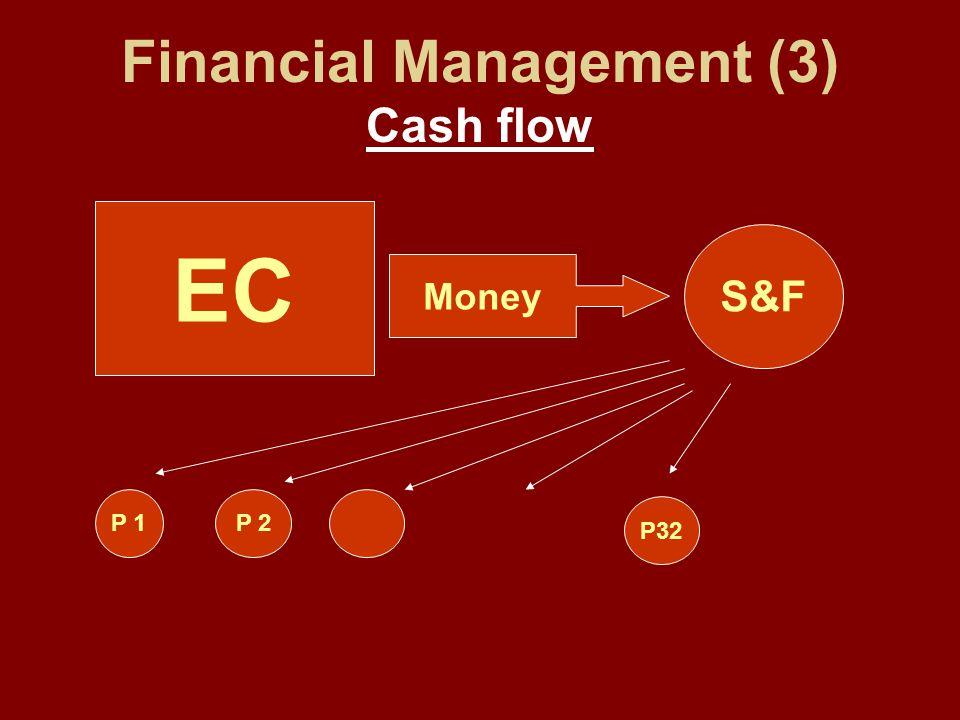 Financial Management (3) Cash flow EC Money S&F P 1P 2 P32