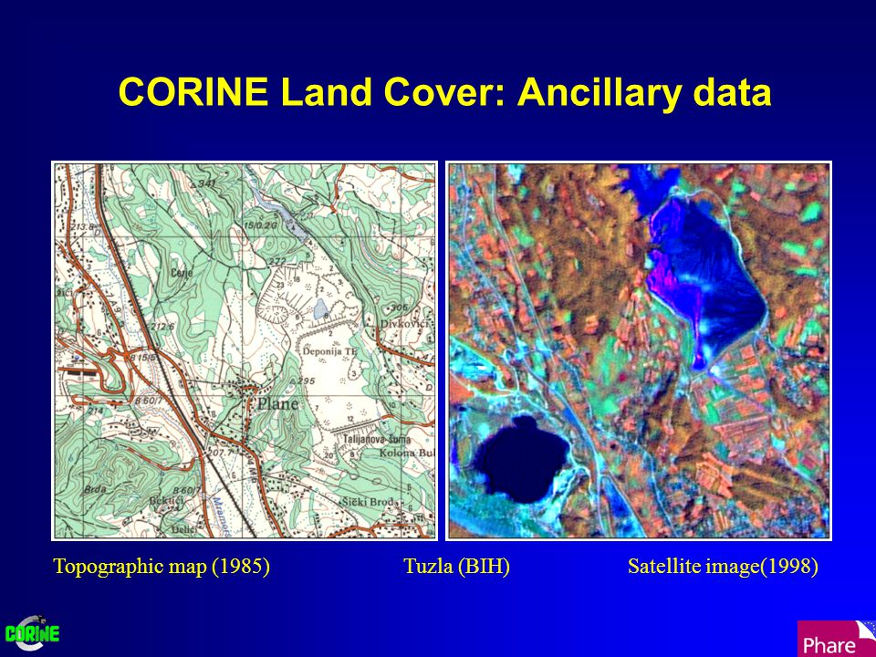 CORINE Land Cover: Field checking