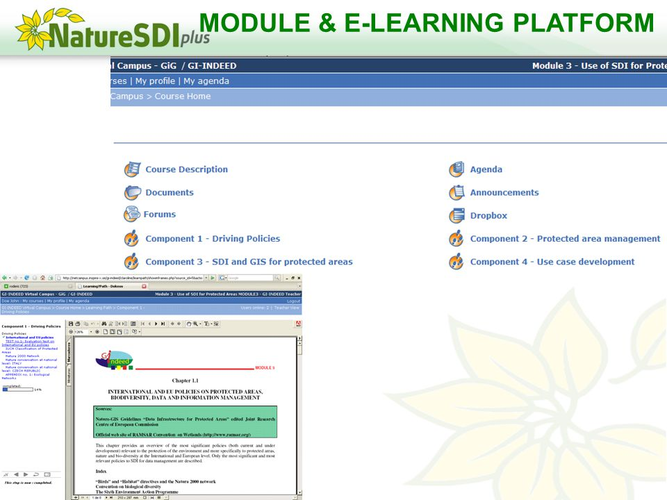 MODULE & E-LEARNING PLATFORM