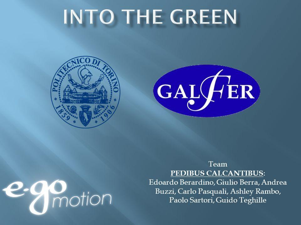 Team PEDIBUS CALCANTIBUS : Edoardo Berardino, Giulio Berra, Andrea Buzzi, Carlo Pasquali, Ashley Rambo, Paolo Sartori, Guido Teghille