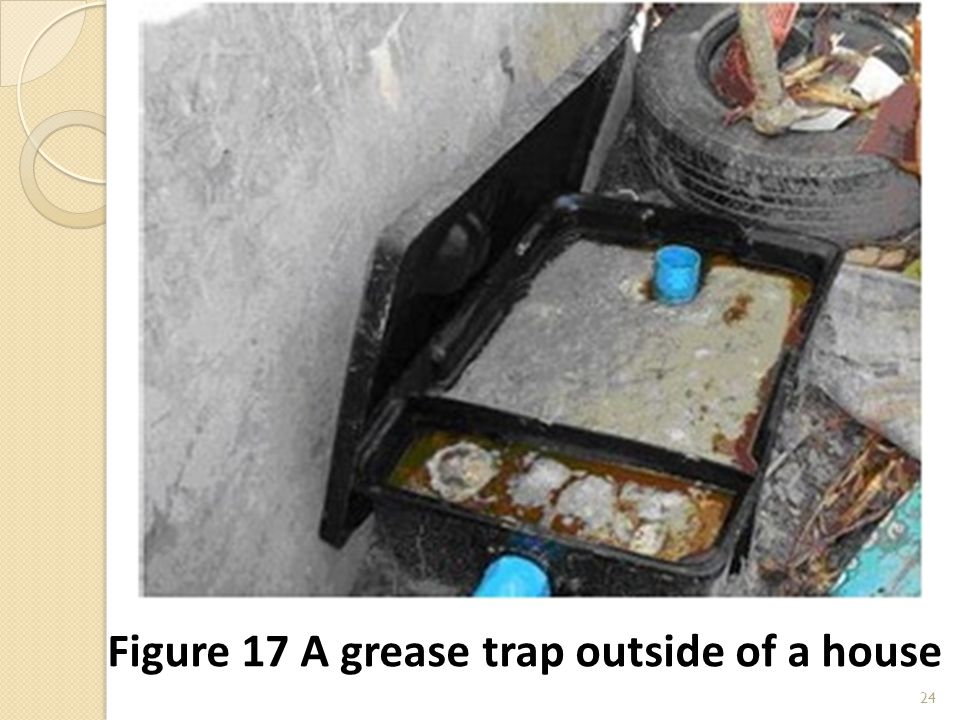 24 Figure 17 A grease trap outside of a house