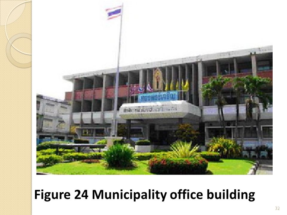 32 Figure 24 Municipality office building
