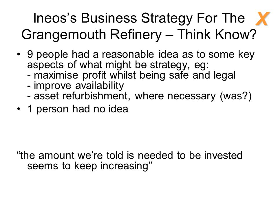 Ineos's Business Strategy For The Grangemouth Refinery – Think Know.