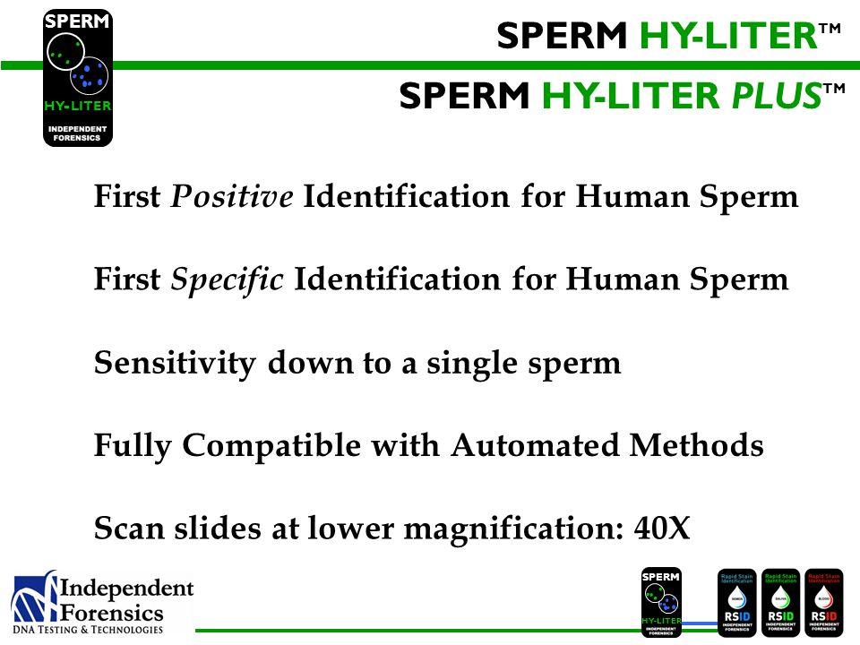 SPERM HYLITER Jennifer Old, Ph.D.Brett Schweers, Ph.D.