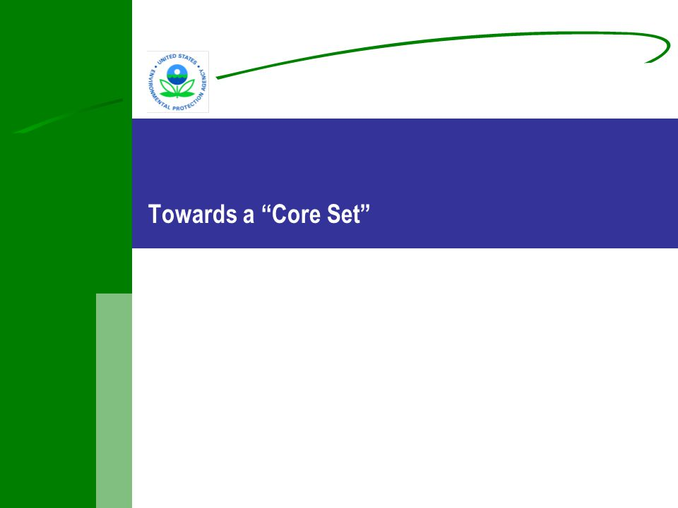 Towards a Core Set
