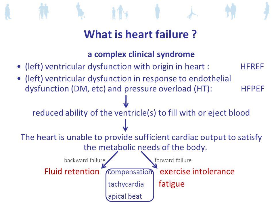 What is heart failure .