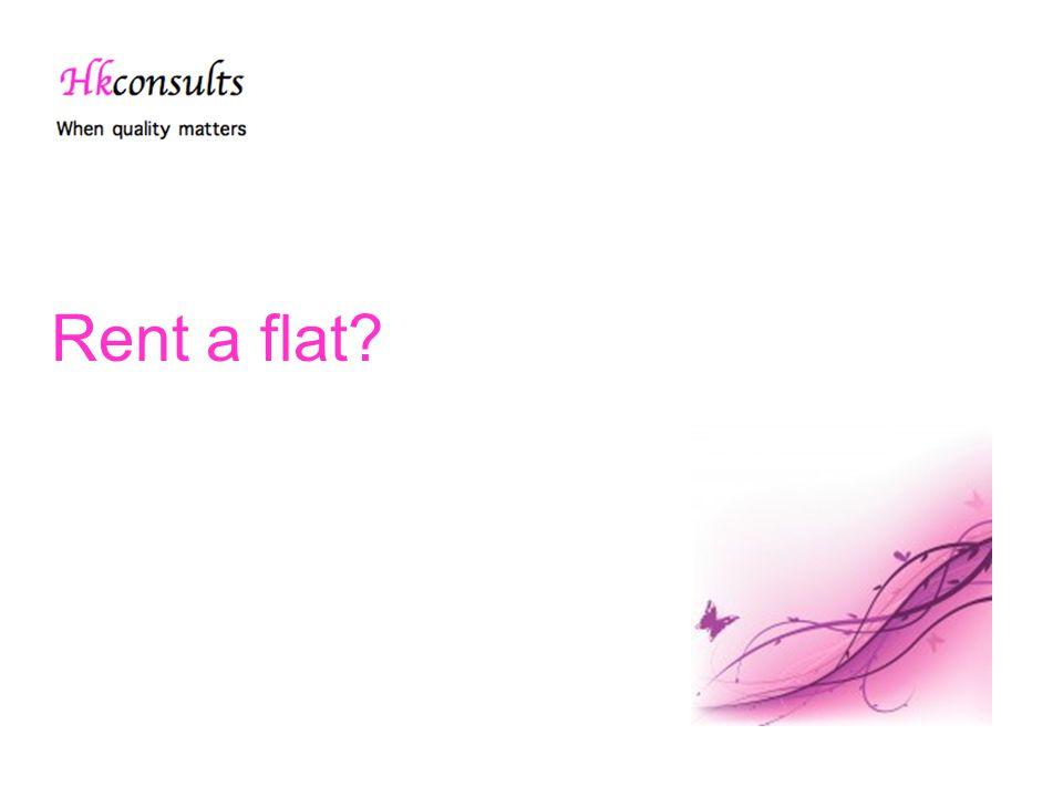 Rent a flat?