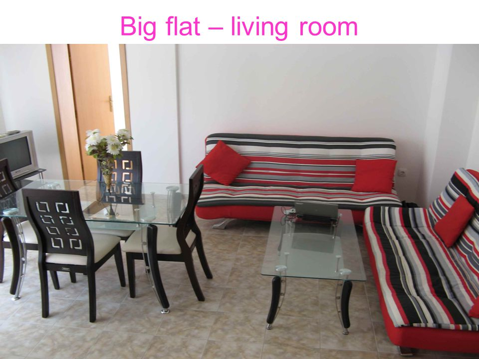Big flat – living room
