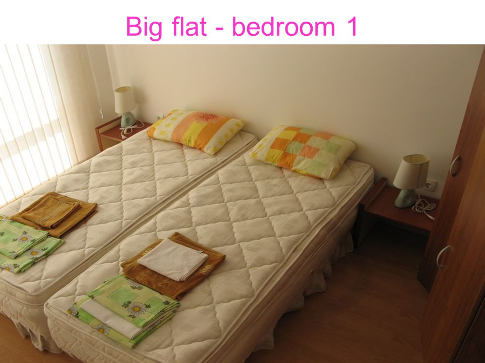 Big flat - bedroom 1
