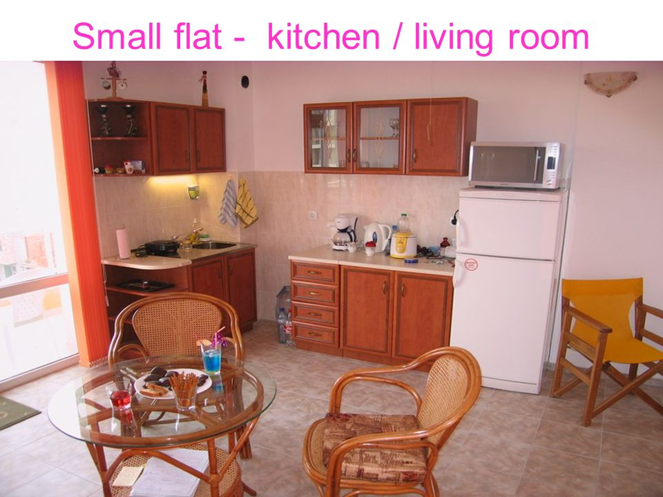 Small flat - kitchen / living room