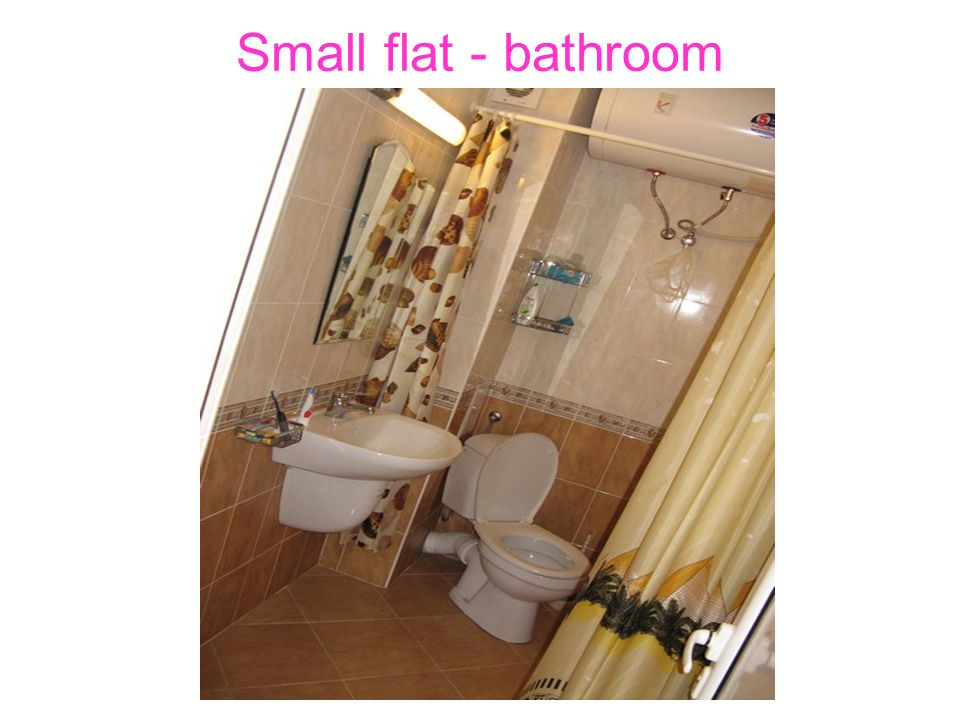 Small flat - bathroom
