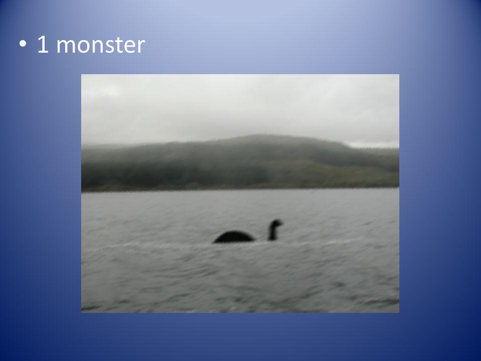 1 monster