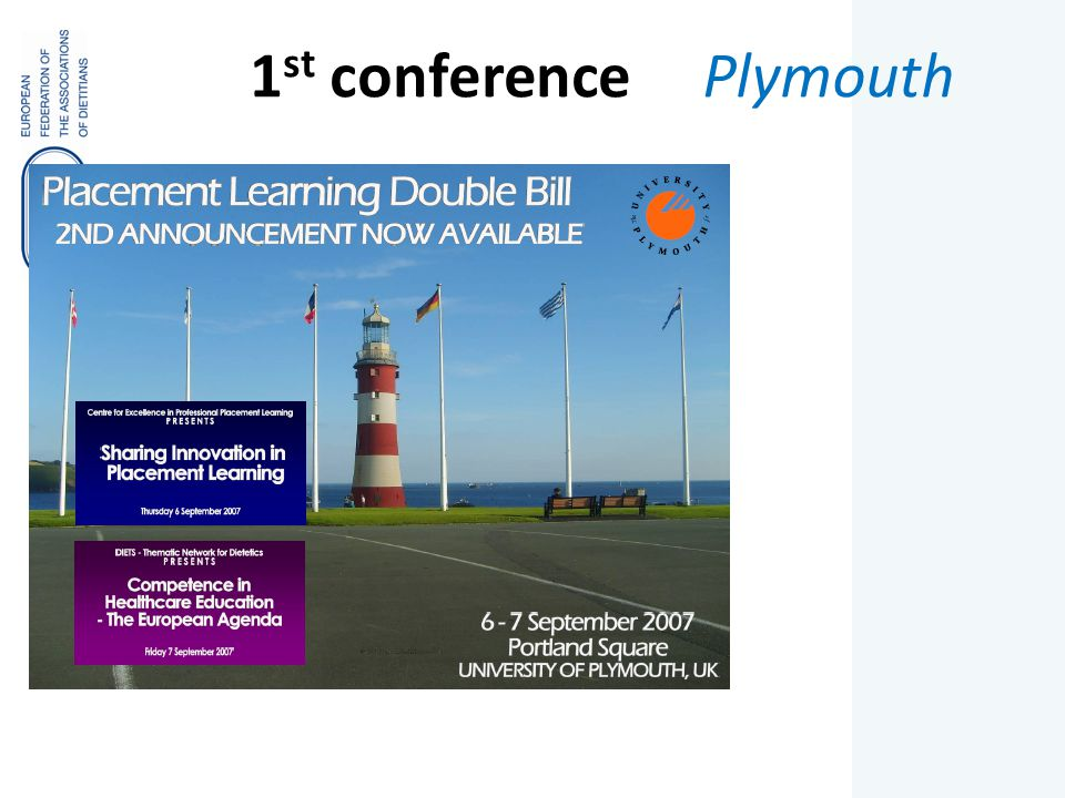 1 st conference Plymouth