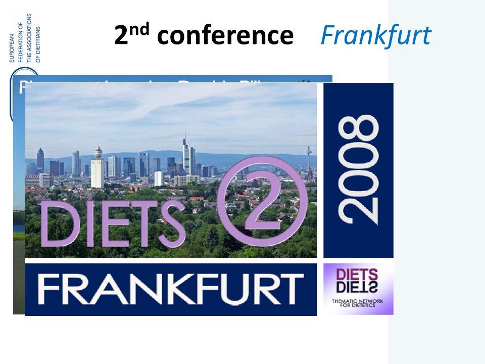 2 nd conference Frankfurt