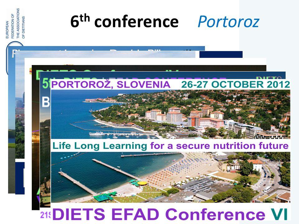 6 th conference Portoroz