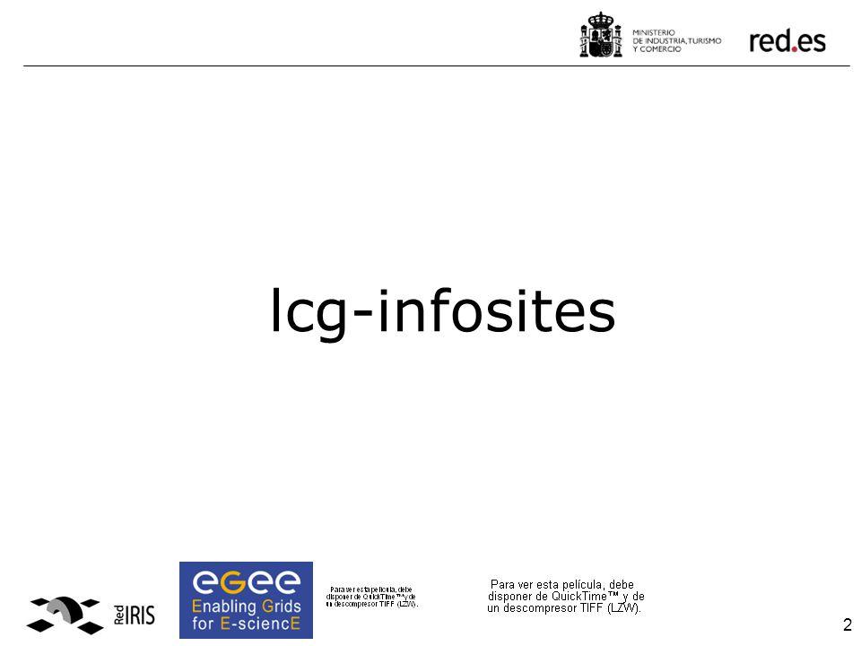 2 lcg-infosites