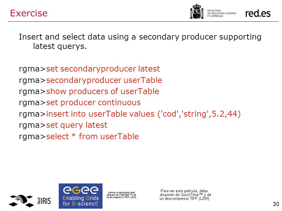 30 Insert and select data using a secondary producer supporting latest querys.