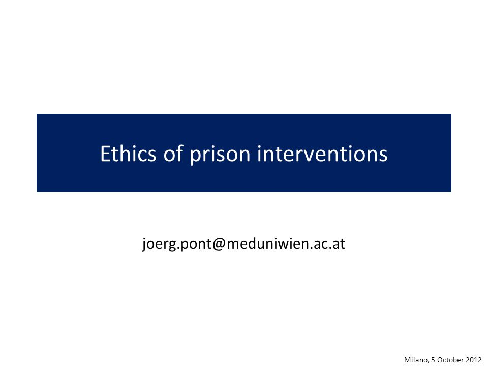 Prisons: Total Institutions Erving Goffman: Asylums, 1961 Michel Foucault: Surveiller et punir, 1975 Milano, 5 October 2012