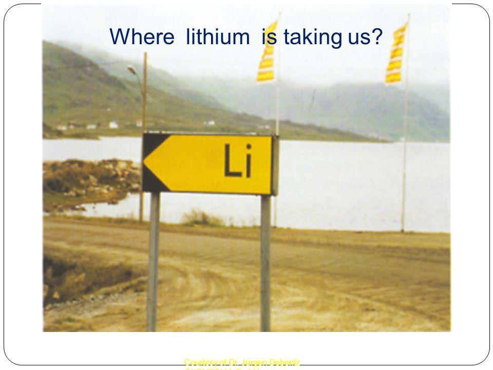 Courtesy of Dr. Jürgen Deberitz CHEMETALL GmbH Where lithium is taking us?
