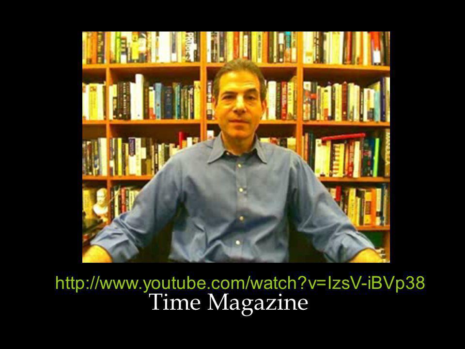 Time Magazine http://www.youtube.com/watch v=IzsV-iBVp38