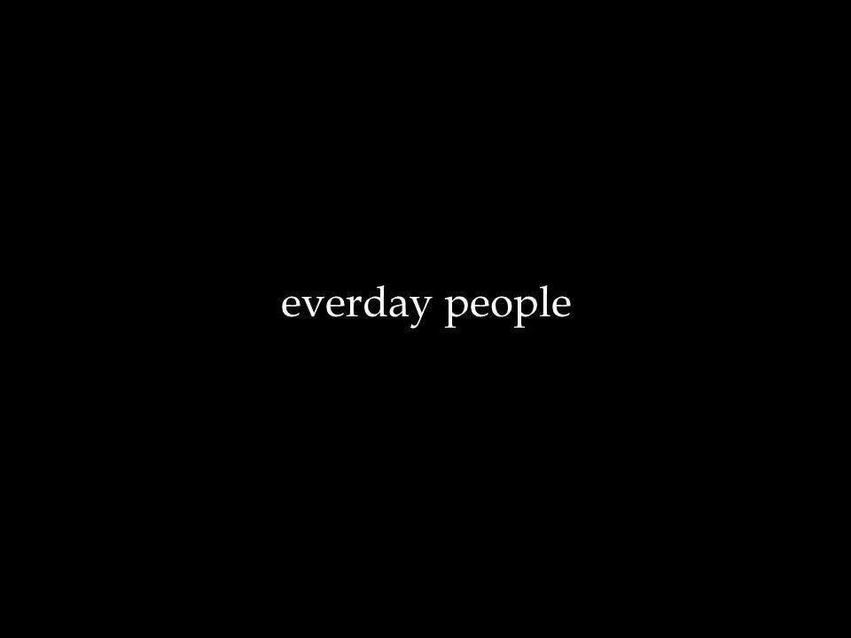 everday people