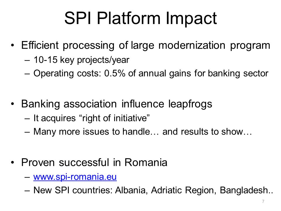 8 SPI Builds A Strong Partnership