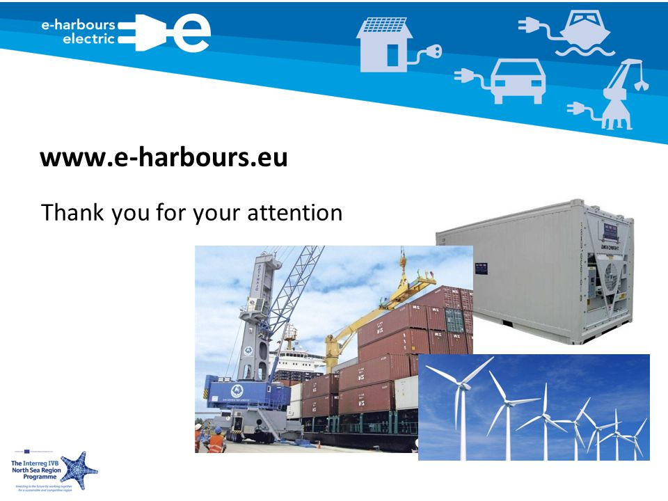 www.e-harbours.eu Thank you for your attention