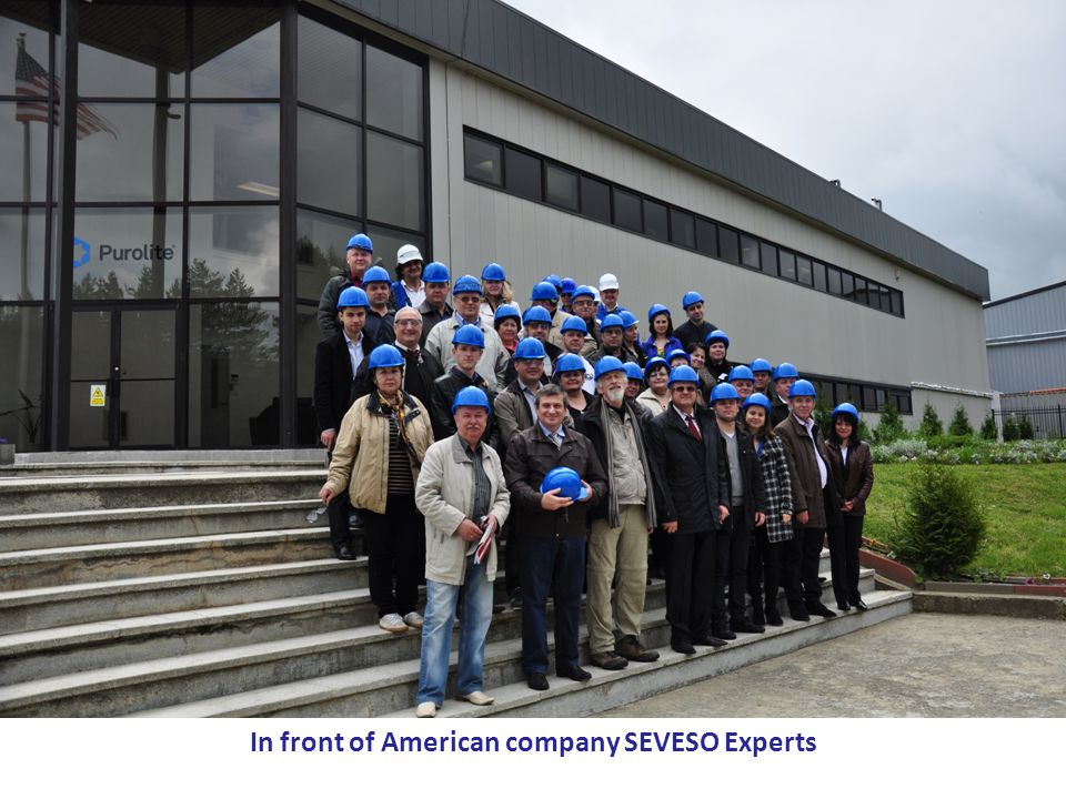 PPRD East Programme – a Flagship Initiative of Eastern Partnership This Programme is funded by the European Union In front of American company SEVESO Experts