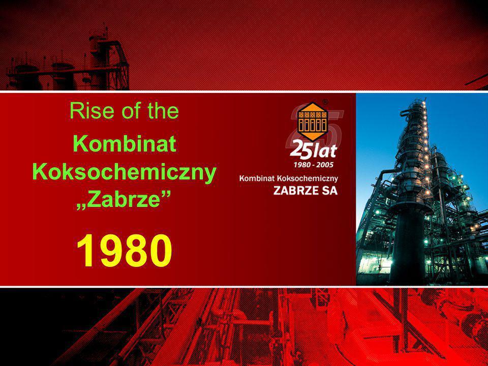 "Rise of the Kombinat Koksochemiczny ""Zabrze 1980"